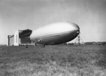 LZ 130 Graf Zeppelin II at Lowenthal 1938