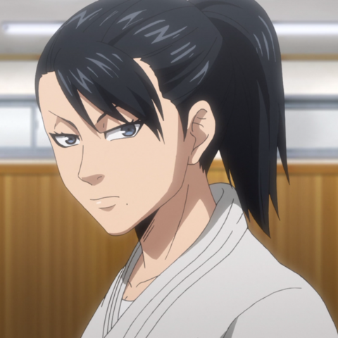 Takani Shiho's appearance in the anime.