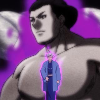 Ogawa's aura as a former Yokozuna.