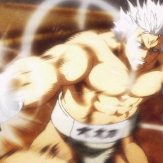 Yūma uses Castle Break Punch on Takumi.