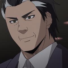 Yamatokuni's face closeup.