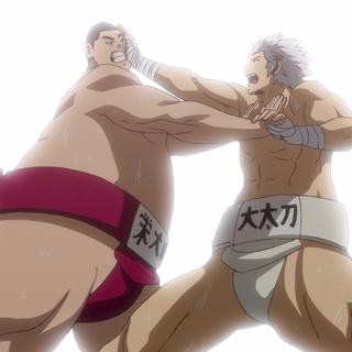 Jin & Yūma deal their final attacks.