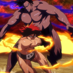 Hinomaru switches to a new position.