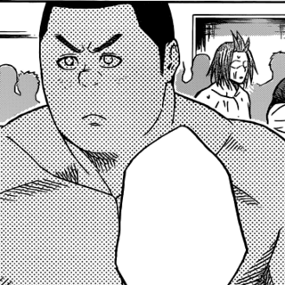 Sanada Yuuki's appearance in the manga.