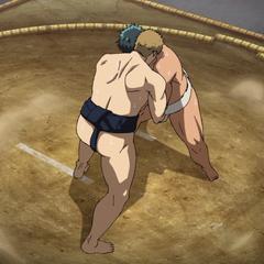Akihira battles Chihiro at the Inter High.