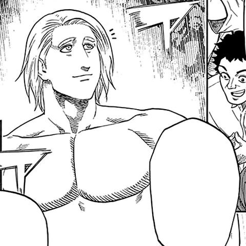 Daniel Stefanov in the manga.