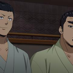 Takuya & Norihiro observe the Inter High.