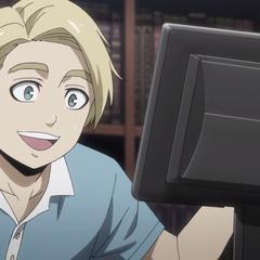 Daniel sees Yamatokuni's sumo online.