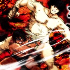 Hinomaru beats Tenma.