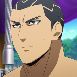 Araki Gennosuke in the anime.