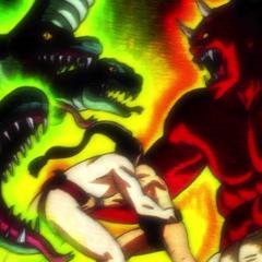 Ushio and Kuze's spirits clash.