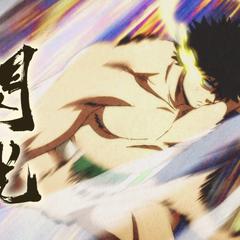 Tenma's Lightning Quick Pushing Strike: Flash Attack.