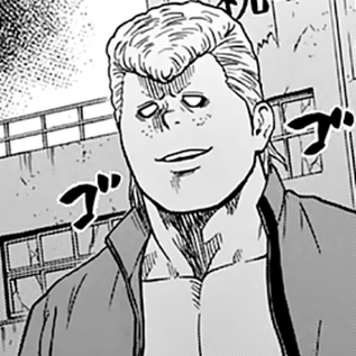 Sanada's appearance in his youth.