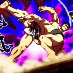 Hinomaru defeats Chihiro in the individual matches.