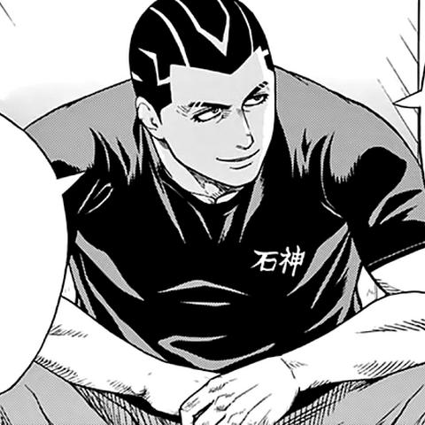Araki Gennosuke  in the manga.