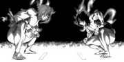 Ushio and Sada's First Battle