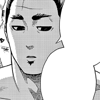 Saenoyama Norihiro in the manga.