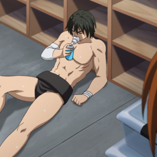 Kei discovers a collapsed Tsuji.