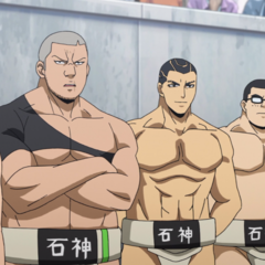The Ishigami High Sumo Team.