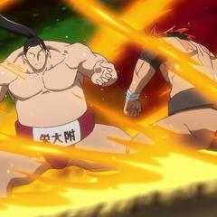 Sōsuke begins to get serious.