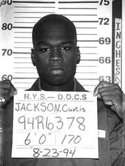 50 Cent mugshot