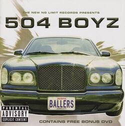 Ballers 504 Boyz album