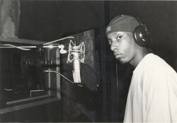 Big L - In the studio