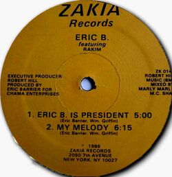 Eric B. Is President