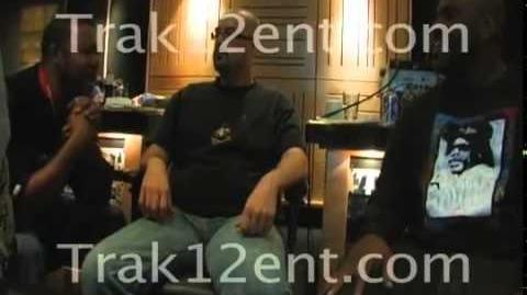 Bone Thugs-n-Harmony with The Real Richie Rich, DJ Uneek in the studio