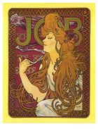 Job rolling papers Art Nouveau