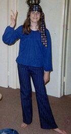 Hip Hippie girl 1969