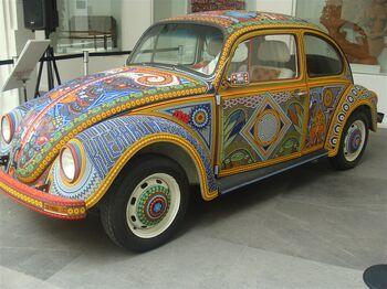 VW Huichol beads