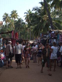 Hip Anjuna hippie market