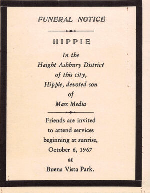 Hip Death of hippie