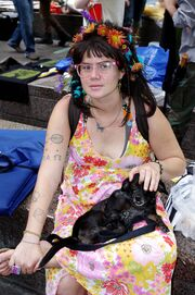 Hip Flower Day 8 Occupy Wall Street Sept 24 2011 Shankbone 24
