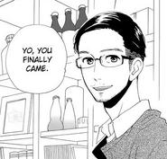 Yukichi greeting Shishio