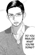 Yukichi talking to Shishio
