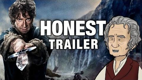 Honest Trailers - The Hobbit The Battle of the Five Armies (feat. HISHE)