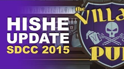 HISHE Update - SDCC 2015