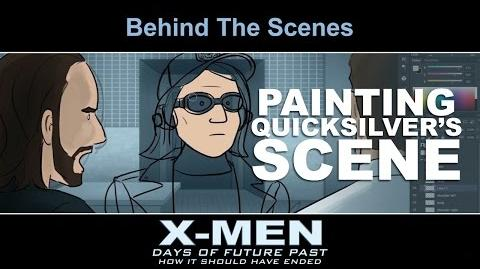 Extras - Painting the Quicksilver Scene