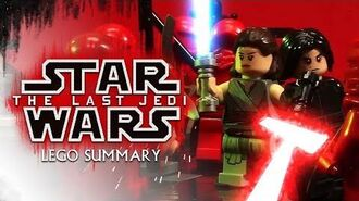Star Wars The Last Jedi LEGO Summary