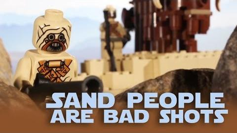 Lego HISHE - Sand People Are Bad Shots