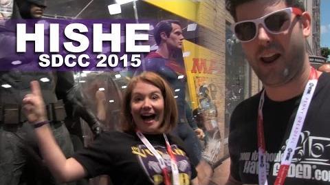HISHE @ SDCC 2015 and Live Villain Pub!