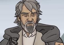 Old Luke Skywalker
