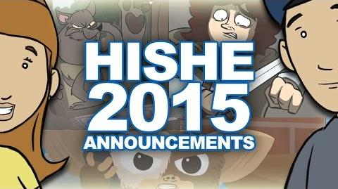 HISHE 2015 Announcements
