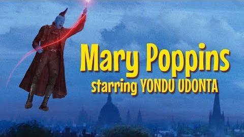 Mary Poppins Starring Yondu