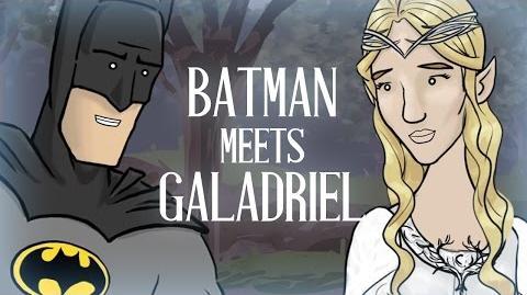 Batman Meets Galadriel