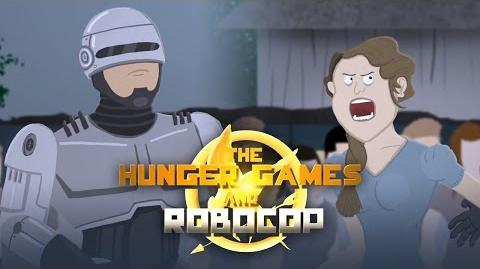 Movie Mash The Hunger Games and Robocop
