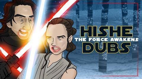 Star Wars The Force Awakens - Comedy Recap (HISHE Dubs)