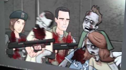 Behind The Scenes Resident Evil HISHE